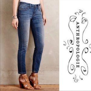 Pilcro & The Letterpress Cropped Jeans